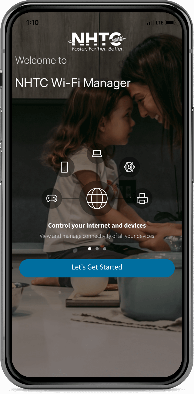 NHTC Wi-Fi Manager app