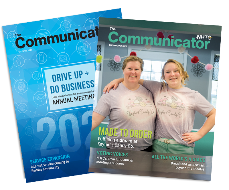 July/August 2021 Communicator Covers